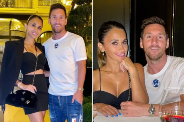 Messi and his wife find a home in Paris