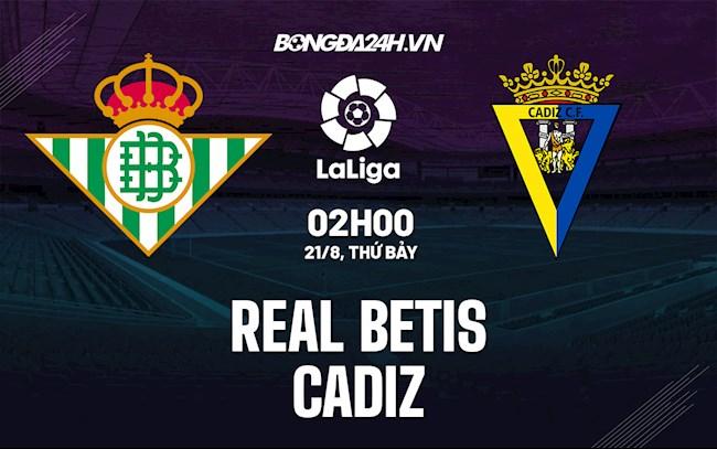 Betis vs Cadiz