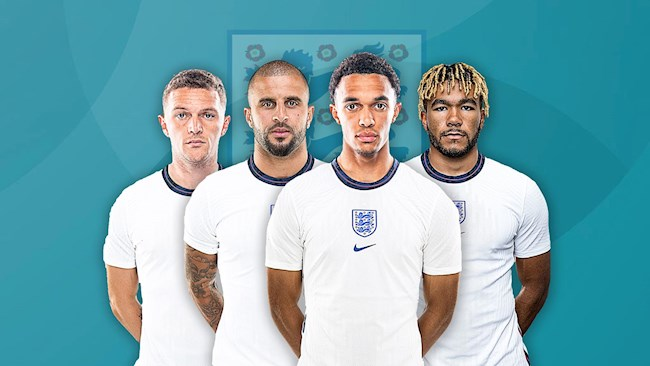 England's top right-backs