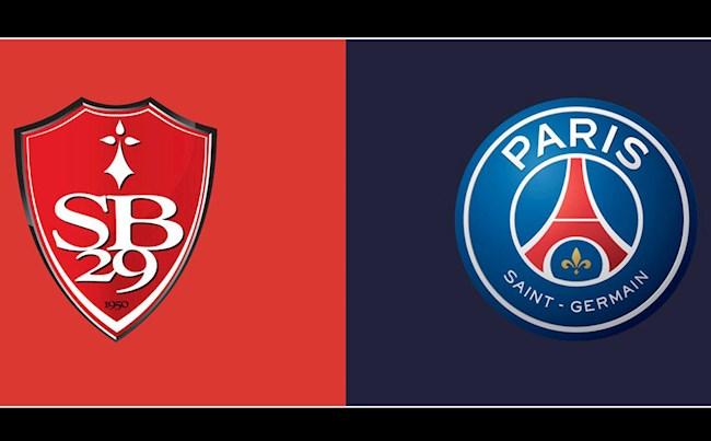 Schedule Brest vs PSG (Ligue 1 2021/22)