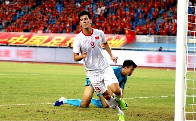 Tien Linh once made China U22 hold a grudge in the past