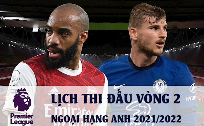 English Premier League schedule 2021 round 2, K+ live English football pictures