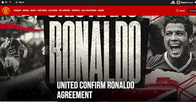 MU vừa thông báo đạt thỏa thuận chiêu mộ Ronaldo