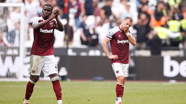 West Ham để thua 1-2 đầy tiếc nuối