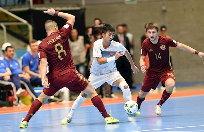 Nhìn lại trận đấu giữa futsal Việt Nam vs futsal Nga tại VCK Futsal World Cup 2016