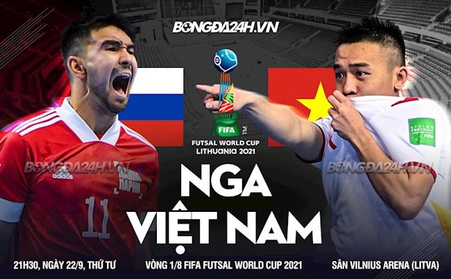 Video tổng hợp: Việt Nam vs Nga (Vòng 1/8 Futsal World Cup 2021)