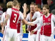 Ajax nang ty so len 2-1 nho cu danh dau cua Moisander