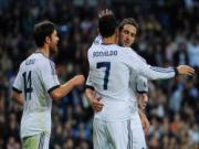 Ronaldo mau chong dem ve ban go hoa cho Real