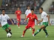 Doi tuyen Viet Nam nhan nhiem vu vao chung ket AFF Cup 2012