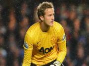 Lindegaard thua nhan kha nang chia tay Man Utd
