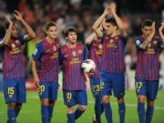 Messi lap hattrick, Barcelona dai thang ga nha giau Malaga