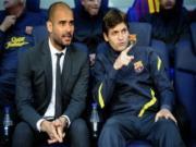 Barca tro thanh cuu vuong, Guardiola danh quay sang tia tot trong tai