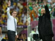Del Bosque vs Laurent Blanc: The luc & thach thuc