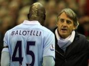 Mat Aguero, Mancini phai danh bac voi dua tre Balotelli