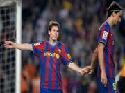 Từ Zlatan Ibrahimovic đến Luis Suarez: Lụi tàn vì Messi