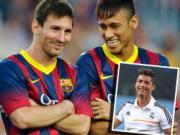 Neymar se som vuot qua Messi va Ronaldo