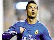 Ronaldo lien tuc ghi diem trong cuoc dua gianh QBV