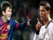 Vuot mat Messi, ao dau Ronaldo vo doi mua giai 2013/14