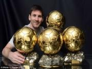 Lionel Messi muon gianh QBV thu 5 trong su nghiep