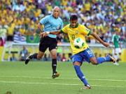 "Brazil vao ban ket Confed Cup: Nguon cam hung ""Neymaravilha"""