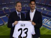 Sau Gotze, den luot Isco gay su co trong le ra mat tai Real Madrid