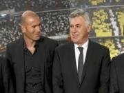 Zidane da co bang HLV