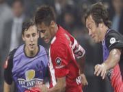 Neymar ghi ban tu 40m vao luoi cua doi Messi
