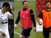 Bale, Rooney va Suarez: No tung bung roi… xit