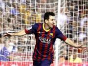 Chan thuong khong quat nga duoc Lionel Messi