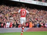 HLV Wenger hết lời ca ngợi Alexis Sanchez sau chuỗi trận thăng hoa