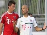 "Mandzukic bất ngờ ""tố"" Pep Guardiola ""chơi bẩn"" tại Bayern"