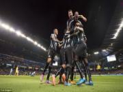 Highlights:  Man City 0-2 Newcastle (Vòng 4 cúp Liên đoàn Anh)