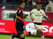 Cagliari 1-1 AC Milan: Honda tậm tịt