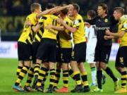 Dortmund 1-0 Gladbach: Chien thang tu .... tren troi roi xuong