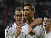 Bale hết lời khen ngợi tài năng của Ronaldo