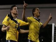 Lee Nguyen vao san tu ghe du bi, My thua nguoc Colombia