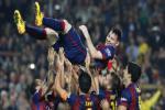 Lionel Messi lap ky luc ghi ban, chu tich Barcelona nuc no ngoi khen
