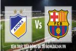 Link sopcast APOEL Nicosia vs Barcelona ( 02h45 - 26/11/2014 )