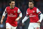 Hàng tiền vệ mới của Arsenal: Không Walcott và cả... Ozil?