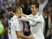 Ronaldo và Benzema đồng loạt dính chấn thương, lỡ Audi Cup