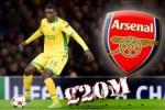 Chi 21,5 triệu bảng Arsenal đã có được sao lớn nhất Sporting Lisbon