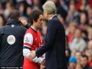 Rosicky chìm nghỉm: Tiểu Mozart đã già hay mưu sâu kế hiểm của Wenger?