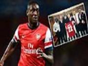 Sanogo duoc fan Arsenal yeu ngay lan dau da chinh