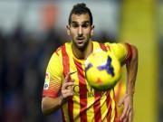 Tương lai của hàng thủ Barca: Bartra và Montoya, không phải Pique