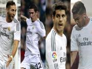 Chan dung 4 ke bat man o Real Madrid