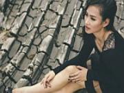 Vuong Thu Phuong mac ao xuyen thau khoe noi y