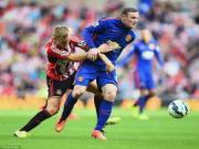 M.U 2-0 Sunderland (Ket thuc): Rooney lap cu dup giup Quy do gianh tron ven 3 diem