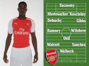 Giải pháp tận dụng tối ưu nhân lực hàng công Arsenal: 4-3-3 và kéo Ozil xuống gần tuyến giữa?
