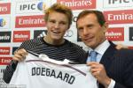Real Madrid luc duc noi bo vi tan binh Martin Odegaard