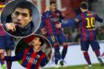 Luis Suarez bị bỏ quên trong ngày Barca đại thắng trước Elche